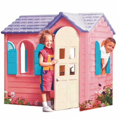 Pink Pretty Cottage Playhouse